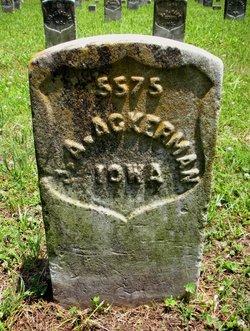 Pvt John A Ackerman
