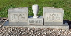 Charles A Burdett