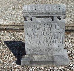 Mildred L <i>Millie</i> Burdett
