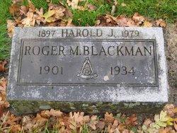 Harold James Blackman