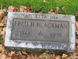 Henrietta Iveda Etta <i>Gulick</i> Blackman
