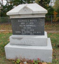 Isabell G <i>Merrill</i> Hayes