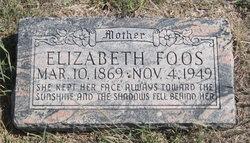 Elizabeth Lizzie <i>Margheim</i> Foos