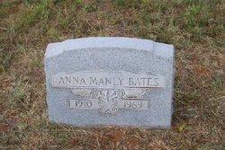 Anna <i>Manly</i> Bates