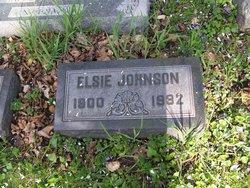 Elsie Mary <i>Martin</i> Johnson