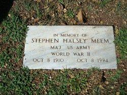 Maj Stephen Halsey Meem
