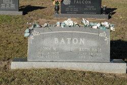 Ruth <i>Hale</i> Baton