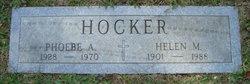 Phoebe A Hocker