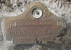 Phyllis Frances <i>Romano</i> Hatcher