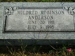 Mildred <i>Robinson</i> Anderson