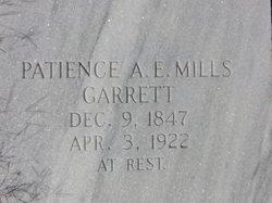 Patience A E <i>Mills</i> Garrett