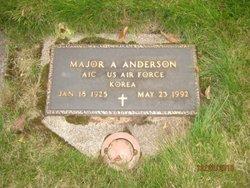 Maj A Anderson