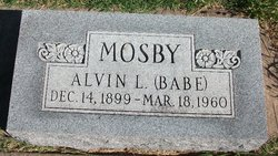 Alvin Lincoln Babe Mosby
