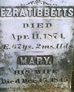Mary <i>Hoar</i> Tibbetts