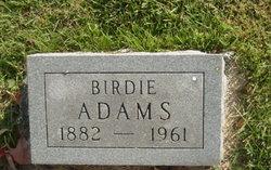 Birdie Adams