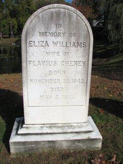 Eliza <i>Williams</i> Cheney