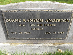 Duane Ransom Anderson