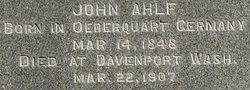 John Ahlf