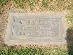 Sophie <i>Deboek</i> Sanspoux