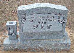 Marva June <i>Thomas</i> Bryson