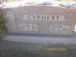 Bessie L <i>Fisher</i> Cyphert