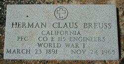 Herman Claus Breuss
