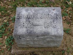 Edwin F Corson
