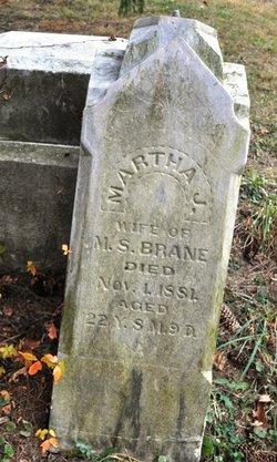 Martha Jane <i>Thomas</i> Brane