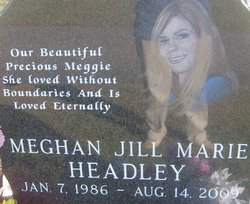 Meghan Jill <i>Marie</i> Headley