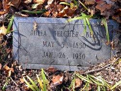 Julia Ann <i>Belcher</i> Bell