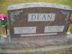 Florence Blanche <i>Fenley</i> Dean