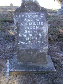 Herman E Green