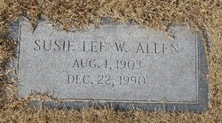 Susie Lee <i>Williams</i> Allen