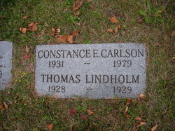 Constance Edith Connie <i>Lindholm</i> Carlson