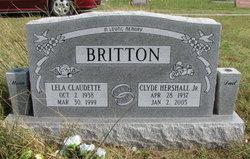 Lela Claudette <i>Cargill</i> Britton