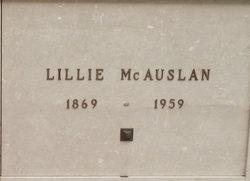 Lillie <i>Crutcher</i> McAuslan