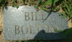 William Bill Bolton