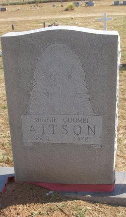 Minnie <i>Goombi</i> Aitson