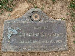 Katherine F <i>Wellons</i> Lankford