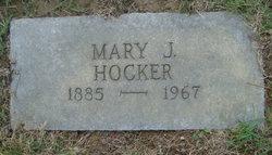 Mary J Hocker