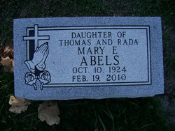 Mary Edith Abels