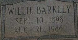 Willie <i>Barkley</i> Barker