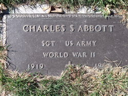 Sgt Charles S Abbott