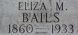 Eliza Miller <i>Hall</i> Bails