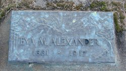Eva May <i>Bolter</i> Alexander