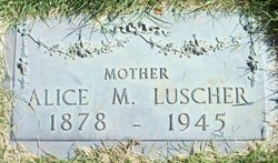 Alice May <i>Sweeney</i> Luscher