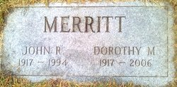 Dorothy Constance <i>Miller</i> Merritt