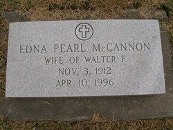 Edna Pearl <i>Graham</i> McCannon