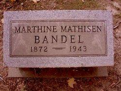 Marthine <i>Mathisen</i> Bandel
