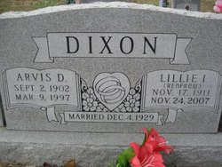Lillie Icle <i>Renfrow</i> Dixon